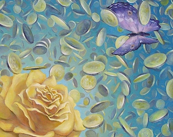 Contemporary surrealism painting, Surrealism art, Art on canvas, Oil painting, Oil on canvas, Original oil paintings, Surrealism art
