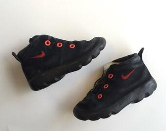 Vintage Toddler Black Nike Sneakers