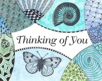 Thinking Of You Nature Card