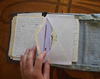 Custom Made Books, Handcrafted with Recycled Materials!