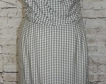Original Wetheral 1950's Dogtooth Wiggle Dress