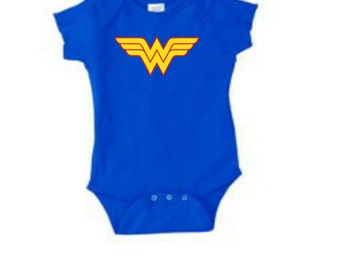Similar Wonder Woman Onesie Symbol