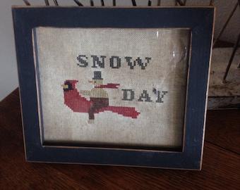 Primitive Snow Day sampler