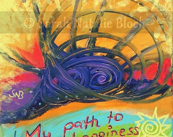 Wall Posters * My path to happiness *
