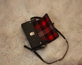 Vintage camera case purse