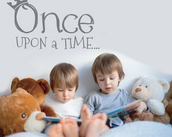 Once Upon A Time Wall Decals - Wall Stickers - Bedroom Decor -