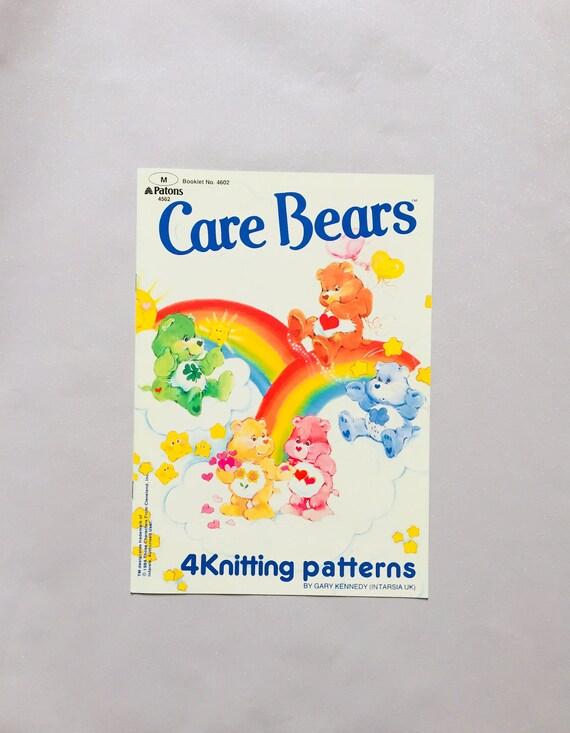 Care Bears Knitting Patterns Crochet Chart Cross Stitch