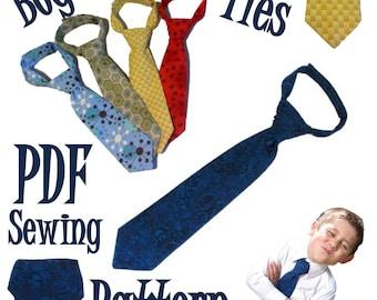 Boys Neck Tie PDF Sewing Pattern