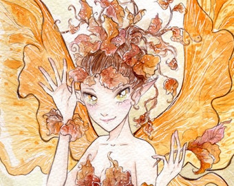 Autumn Fae - print