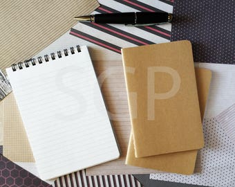 Memo Pad, Notebooks & Scrapbooking Paper Stock Photography, Stock Photos Digital Download, Digital Paper, Scrapbook Journal Paper, Wall Art