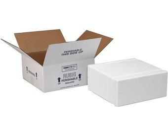 Upgrade hot weather shipment insulated boxes