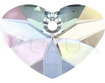 Wholesale Swarovski Crazy 4 U Heart 6260 - 37 MM Aurore Boreale (AB)