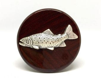 Trout Wine Stopper