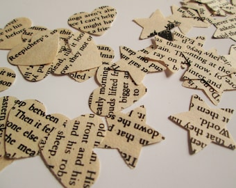 Narnia Confetti | Hand-cut 250 heart, star, or mixed confetti | The Chronicles of Narnia - CS Lewis