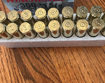 300 WSM Brass Casings Winchester in Box