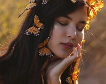 Monarch Dreams Fairy Crown Set