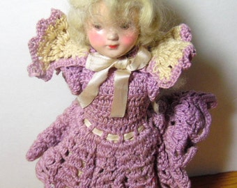 Pair of old dolls, with missing parts, and could be used for clothing or parts.