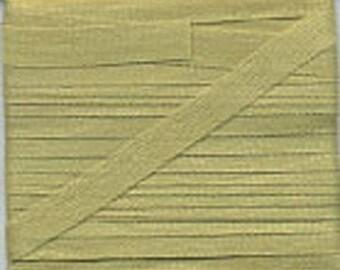 4 mm light green silk ribbon