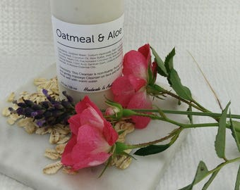 Oatmeal & Aloe Face Cleanser