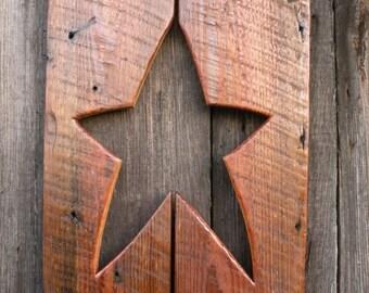 Primitive Star Wall Decor