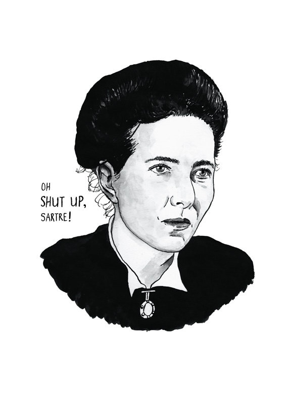 Simone de beauvoir feminism essay