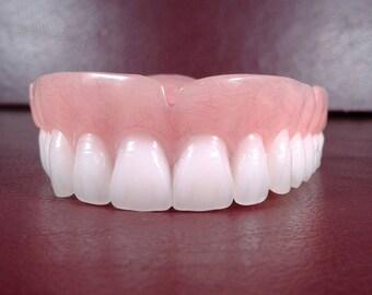 Custom denture impression kit denture upper false teeth bleach shade medium solutioingenieria Image collections