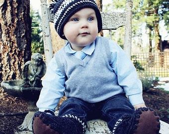 Crochet Baby Hat Pattern: Crochet Toque, 'Wee Westcoaster'