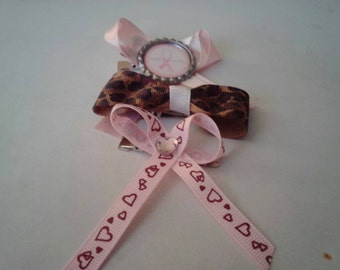Breast cancer bows