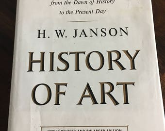 History Of Art  Book H.W. Janson Fifth Printing 1970