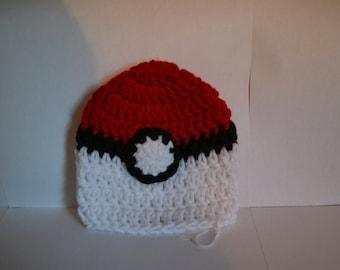 Poke Ball Hats