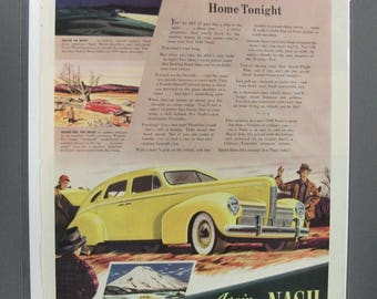 Nash #104    Nash    Magazine Ad  1939