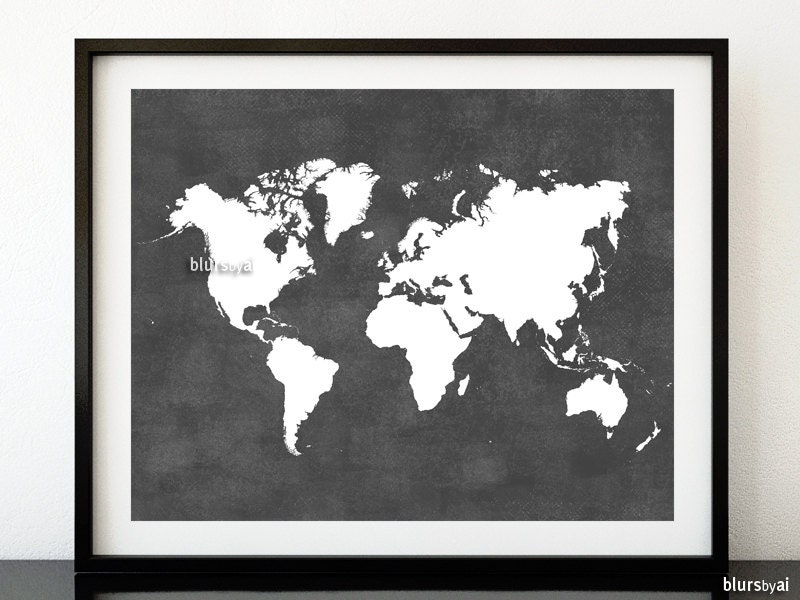 Grey printable world map distressed vintage texture map zoom gumiabroncs Images