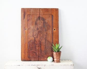 Wood Carving Wall Art ~ Vintage Wood Panel Wall Decor ~ Wood Panel Art ~ Vintage Wood Carving ~ Wood Carving Wall Art ~ Wood Carving Sign