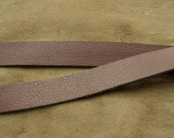 Leatherette Ribbon - 1, 5 cm - Burgundy