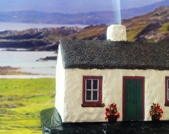 Traditional Irish Cottage Incense Burner
