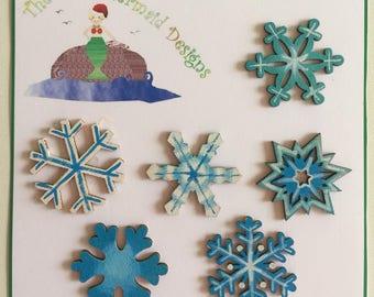 Snowflakes Decorations 1