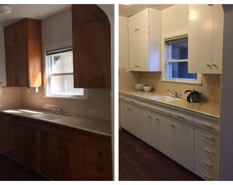 Sacramento, California Kitchen Cabinet Painting - Professional and Affordable Cabinet Makeovers