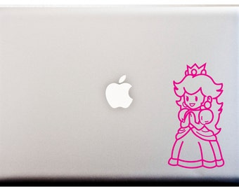 Im a Peach PRINCESS PEACH Decal Video Games Geekery