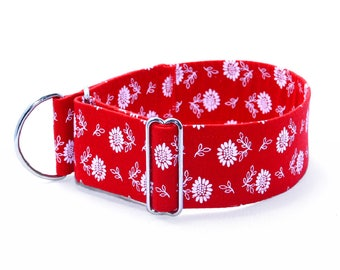 Dog collar Antonia Martingale stop