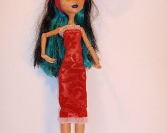 Handmade M.H. dolls  Dress - Handmade M.H. dolls  Clothes