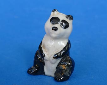 Wade Whimsie PANDA - Large 35mm version - FIRST Whimsies Set 8 Zoo Animals 1957-61