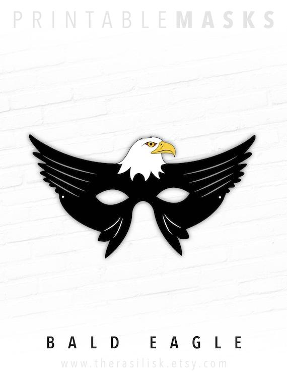 Bald Eagle Mask Bird Patriotic 4th Of