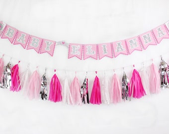 Princess Banner | Princess Party Decor | Princess Birthday Party | Princess Baby Shower | Pink Party Decor | Pink Birthday Banner | Pink Bab