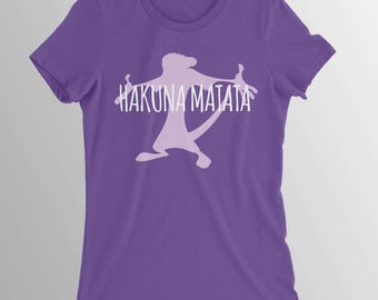 Lion King Hakuna Matata Shirt Disney shirt toddler girls Lion King shirt