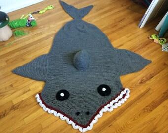 Shark Afghan