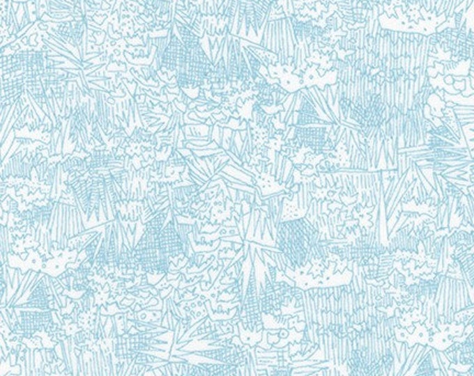 Friedlander Lawn - Fog - 1/2yd