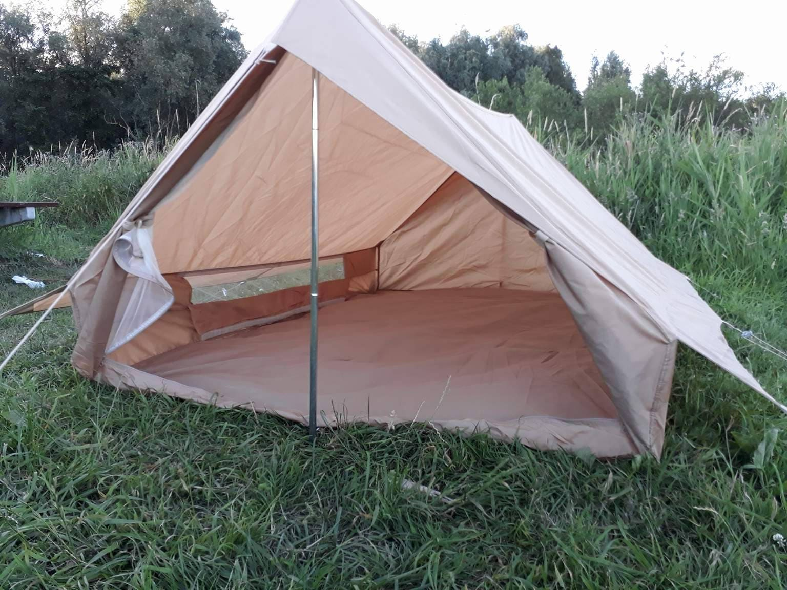 ?zoom & Vintage French Army F1 Desert two person tent.