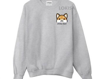 Shiba Dad Crewneck Sweater