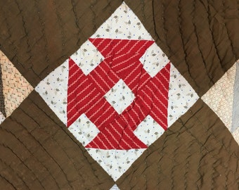 Antique 2 sided quilt