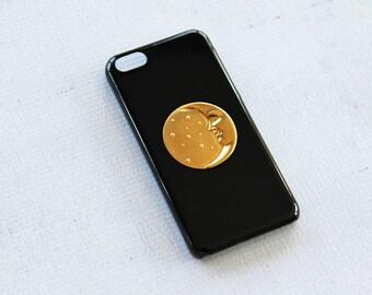 iPhone 8 Plus Case iPhone 8 Case Retro Vintage Case imited Production Handmade Black Retro Phone Case for Apple Gold Cases Unique